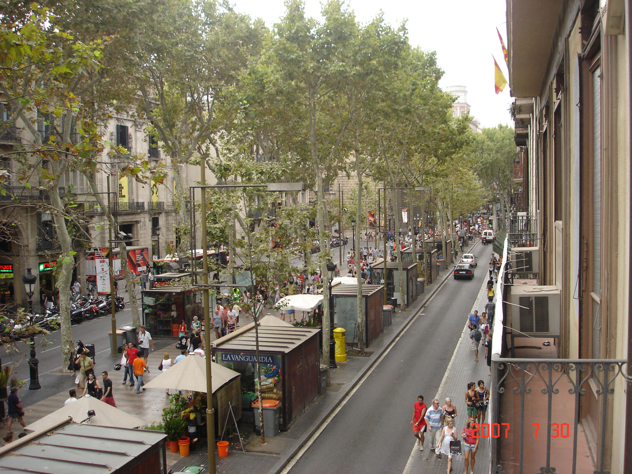 Ross avenue to be turned into ross ramblas on june 26th for Ramblas barcellona