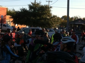 Over 200 riders showed to participate