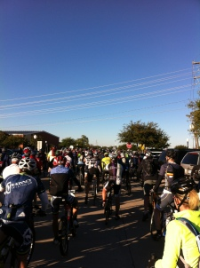 Rolling start from the Farmersville old rail station