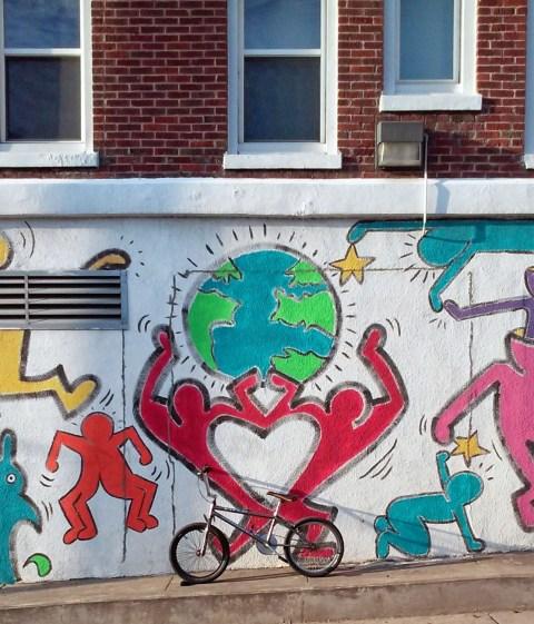 One World, One Bike, One Love.