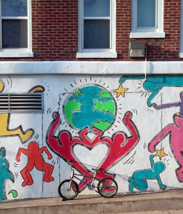 One World, One Bike, One Love.