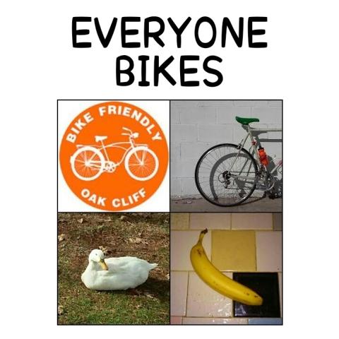 EVERYONE BIKES!