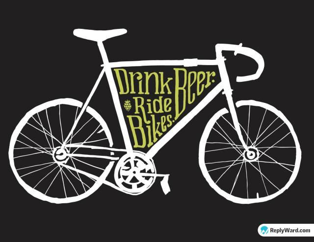 DrinkBeerRideBikes_green_front