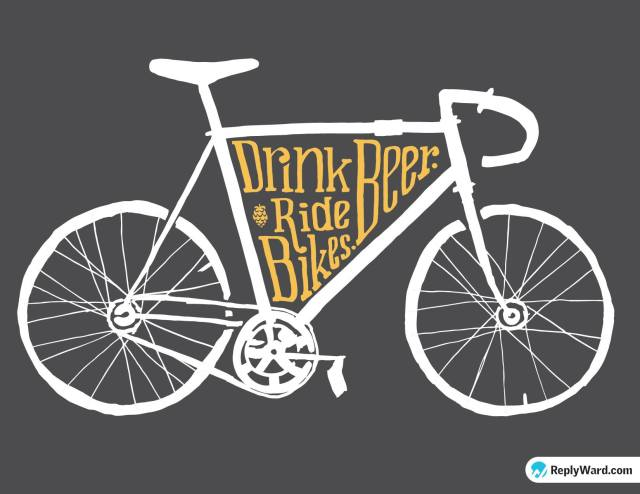 DrinkBeerRideBikes_orange_front