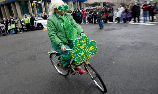 Ride with BFOC to the St. Patrick's Day Parade!