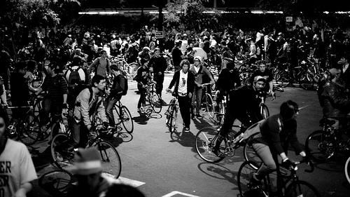 Bike Flash-Mob!