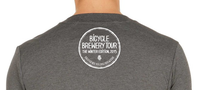 Pre-order a Bicycle Brewery Tour tee for $15!