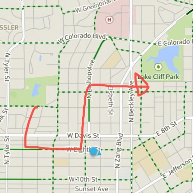 ¡Paletas y Bicicletas! Bike Ride Route
