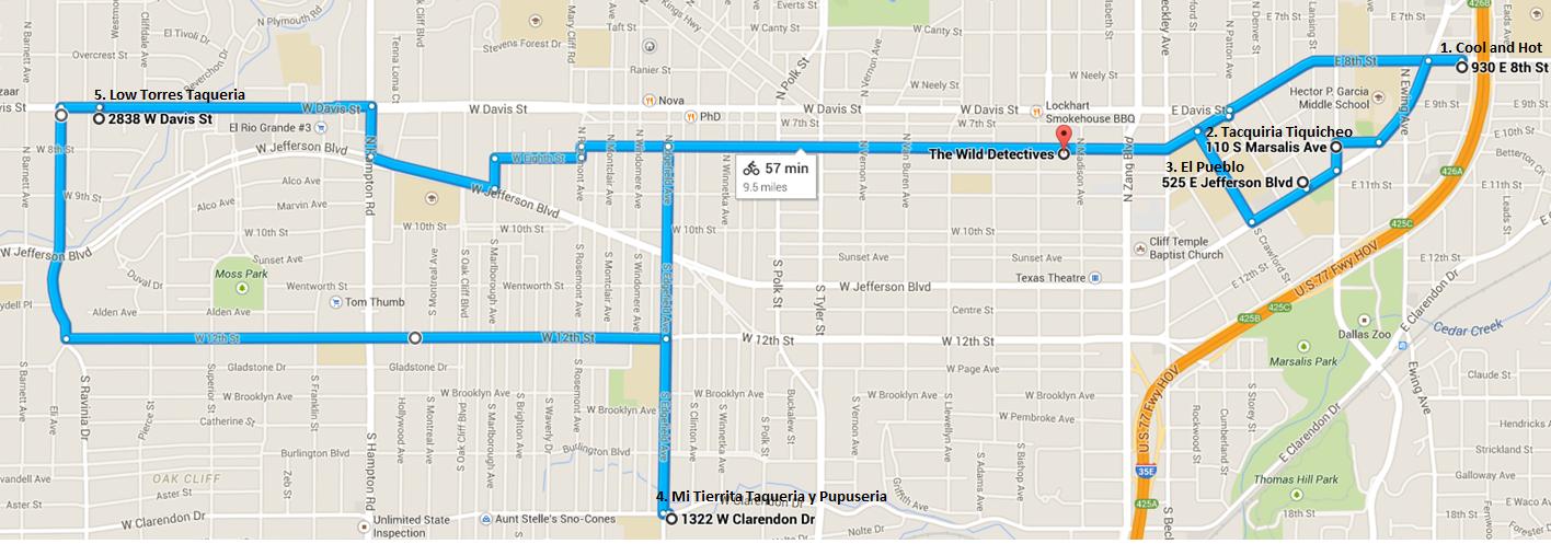 Tour De Taco, April11th
