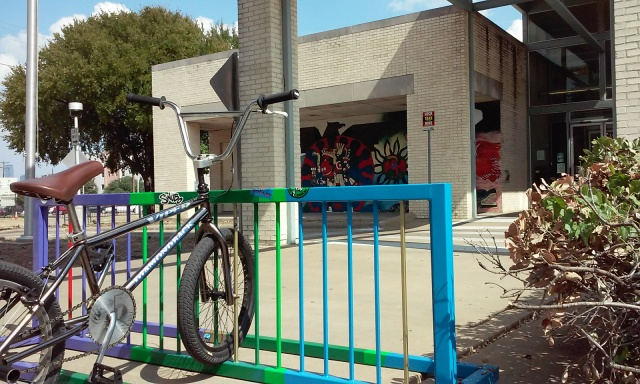 Guerilla Rack at the North Oak Cliff Library!!