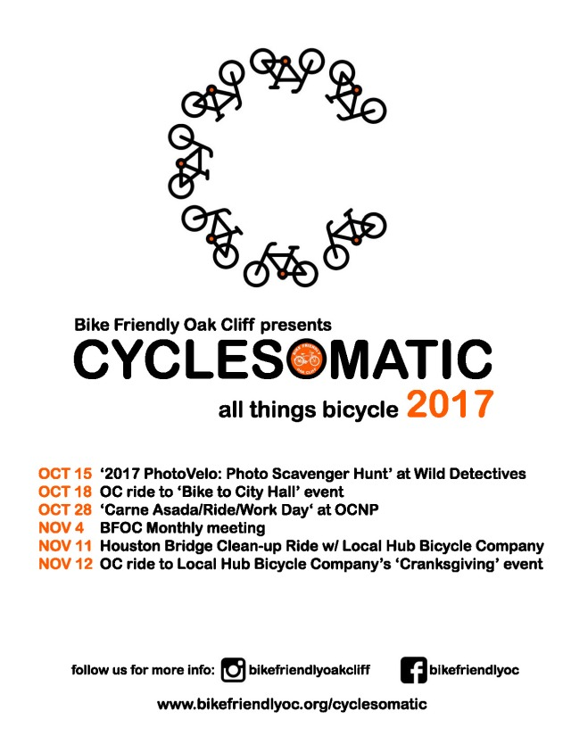 Cyclesomatic 2017 Poster