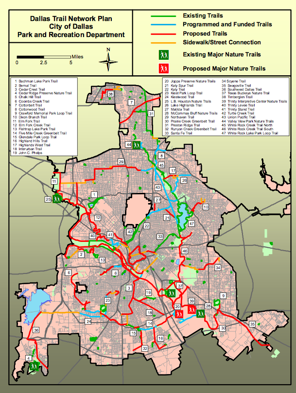 Bike Trail Plan 20018